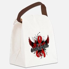 Stroke Awareness 16 Canvas Lunch Bag