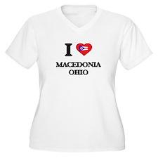I love Macedonia Ohio Plus Size T-Shirt