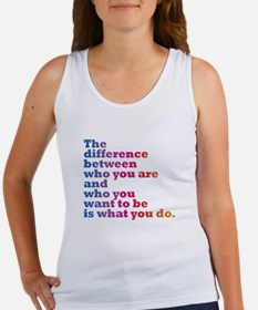 The Difference (blue/pink) Tank Top