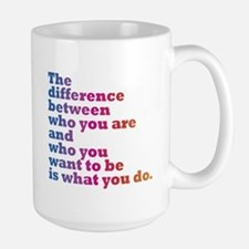 The Difference (blue/pink) Mugs