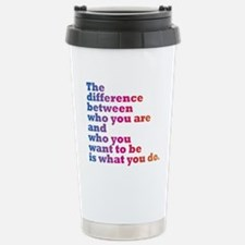 The Difference (blue/pi Stainless Steel Travel Mug