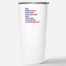 The Difference (blue/pi Travel Mug