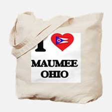 I love Maumee Ohio Tote Bag