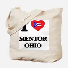 I love Mentor Ohio Tote Bag