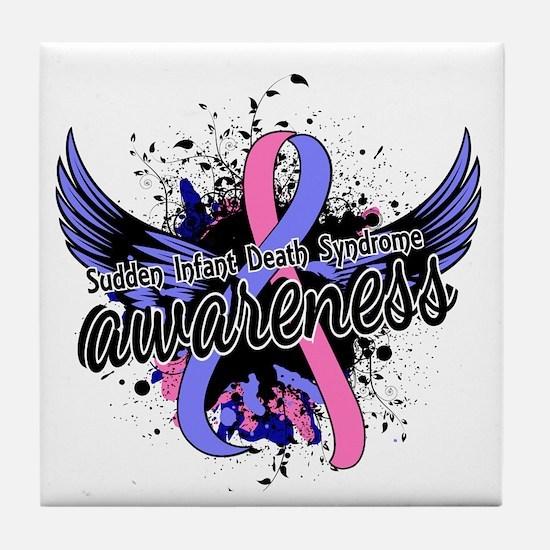 SIDS Awareness 16 Tile Coaster