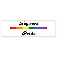 Hayward pride Bumper Bumper Sticker