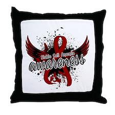 Sickle Cell Anemia Awareness 16 Throw Pillow