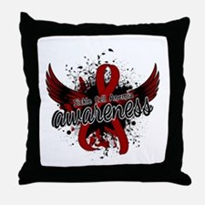 Sickle Cell Anemia Awareness 16 Throw Pillow