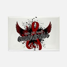 Sickle Cell Anemia Awareness 16 Rectangle Magnet