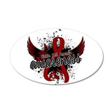 Sickle Cell Anemia Awareness Wall Decal