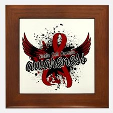 Sickle Cell Anemia Awareness 16 Framed Tile