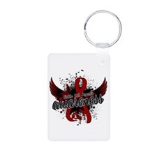 Sickle Cell Anemia Awarene Aluminum Photo Keychain