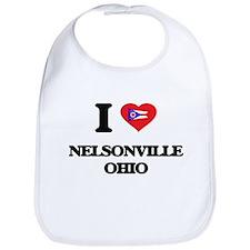 I love Nelsonville Ohio Bib