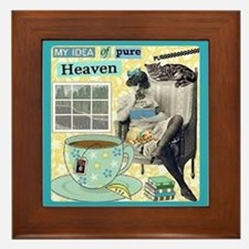 Heaven Framed Tile