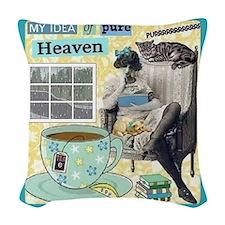Heaven Woven Throw Pillow