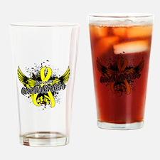Sarcoma Awareness 16 Drinking Glass