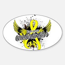Sarcoma Awareness 16 Sticker (Oval)