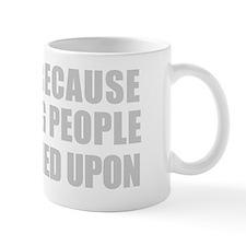 I Swim Becuase Slapping People is Frown Mug