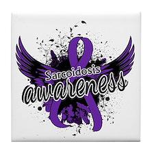 Sarcoidosis Awareness 16 Tile Coaster