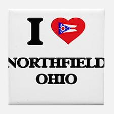 I love Northfield Ohio Tile Coaster