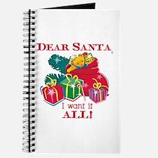Want It All Santa Journal