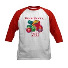 Want It All Santa Tee