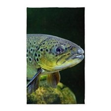 BROWN TROUT Area Rug