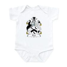 Rice Family Crest Infant Bodysuit