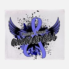 Prostate Cancer Awareness 16 Throw Blanket