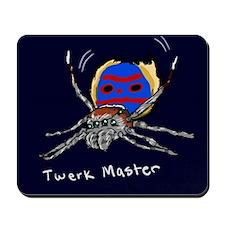 Twerk Master Peacock Spider Mousepad