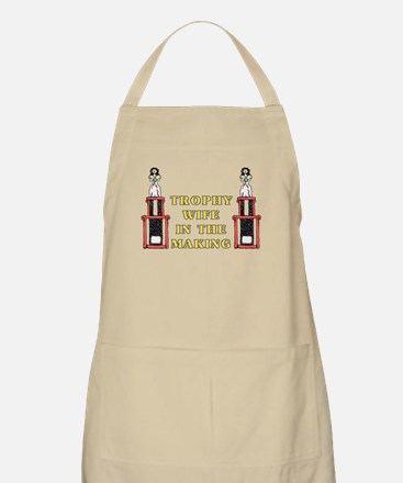 Trophy Wife Engagement BBQ Apron