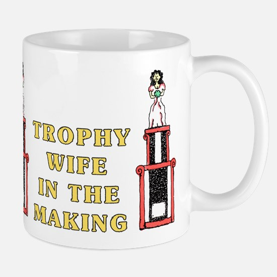 Trophy Wife Engagement Mug