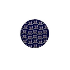 Spider twerk pattern Mini Button
