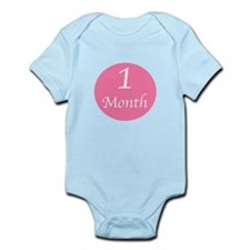 One Month Onesie Body Suit