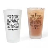 66th birthday Pint Glasses