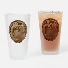 Hildegard von Bingen Drinking Glass
