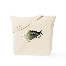 Gold Retro Tuna. Fish Retro Tuna RCM Wild Tote Bag