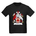Rhodes Family Crest Kids Dark T-Shirt