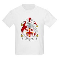 Rhodes Family Crest T-Shirt
