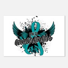 PKD Awareness 16 Postcards (Package of 8)