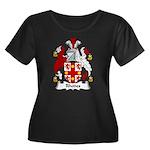 Rhodes Family Crest Women's Plus Size Scoop Neck D