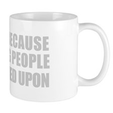 I Swim Because...mugs