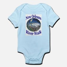 Starry Night Riverboat Infant Creeper