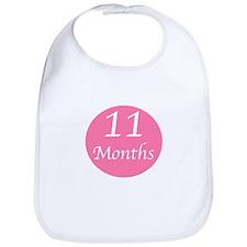 Eleven Months Onesie Bib
