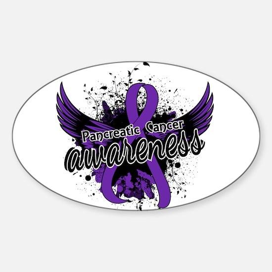Pancreatic Cancer Awareness 16 Sticker (Oval)
