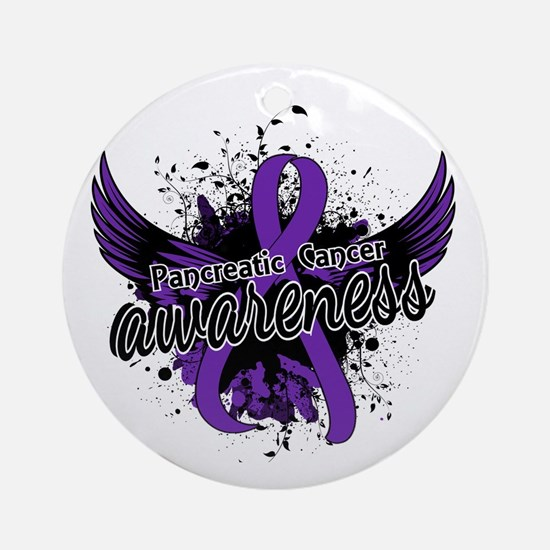Pancreatic Cancer Awareness 16 Ornament (Round)