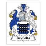 Reynolds Family Crest Small Poster