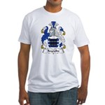 Reynolds Family Crest Fitted T-Shirt