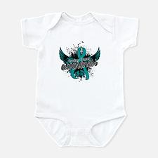Ovarian Cancer Awareness 16 Infant Bodysuit