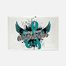 Ovarian Cancer Awareness 16 Rectangle Magnet
